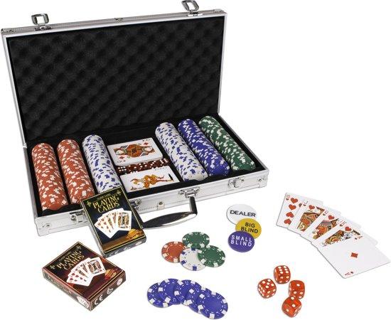 Poker set Texas Hold'em 300 chips