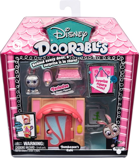 Disney Doorables - Mini display set - Jumbeaux's Café