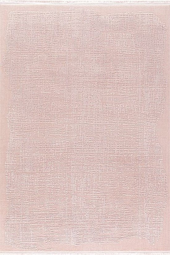 Vloerkleed Klassiek gestreept Taboo roze 80x150 cm