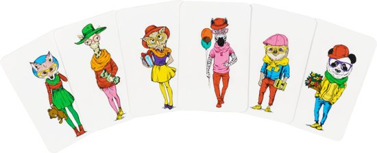 Thumbnail van een extra afbeelding van het spel Snappy Dressers - Kaartspel