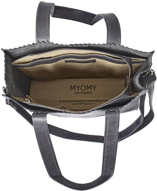 Handtassen Maat Myomy Office Deluxe Dames 0 Taupe 5qwxU7w