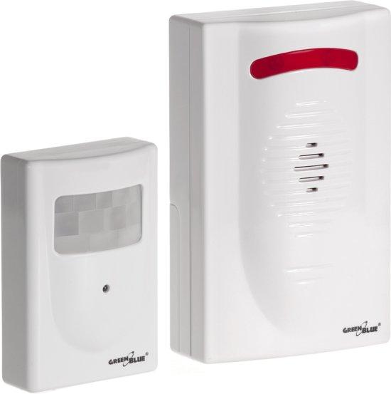 Alarm met bewegingsmelder Sensor motion SET GB3400 GreenBlue