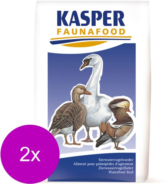 Kasper Faunafood Eendengraan - Pluimveevoer - 2 x 20 kg