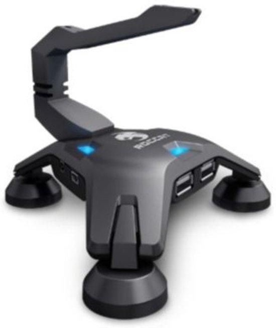 Roccat Apuri Active USB-HUB & Muis Bungee Zwart PC