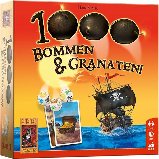 Afbeelding van het spel 1000 Bommen & Granaten! Dobbelspel