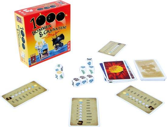 Thumbnail van een extra afbeelding van het spel 1000 Bommen & Granaten! Dobbelspel