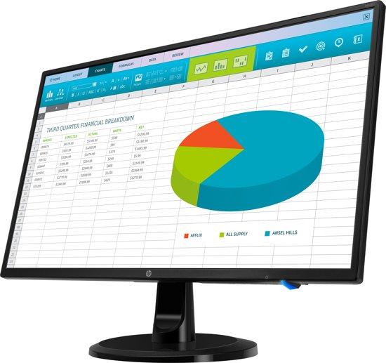 HP N246v LED display 60,5 cm (23.8'') Full HD Flat Zwart