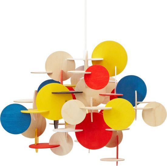 Normann Copenhagen Bau S - Hanglamp - Multicolor