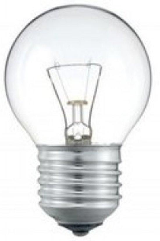 Kogellamp E27 230v 40w Helder - 10 Stuks