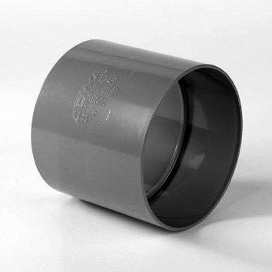 Dyka 2x lijmmof tbv binnenriolering keurmerk BRL2002 125mm