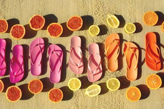 Ipanema - slippers voor dames - Anatomic Tan Colors - oranje
