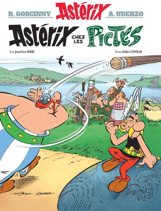 Boek cover Asterix chez les Pictes van Rene Stoeltie (Hardcover)