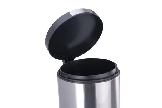 Eko Pedaalemmer 5 Liter.Eko Pedaalemmer 5 Liter Mat Rvs