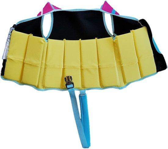 Beco Sealife - Zwemvest/Drijfvest kind - Blauw/Roze - S: 15-18 kg