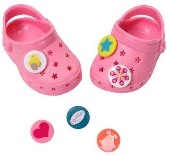 najlepsze trampki najlepsze trampki styl mody bol.com | Zapf Creation Baby Born Crocs Met Pins Roze 2 ...