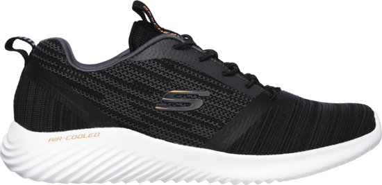 Maat44 Black Sneakers Bounder Skechers Heren xqHv7Zq