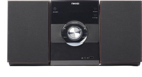 Nikkei NMD315 Microset radio, CD/DVD-speler, USB-poort, HDMI en LINE-in
