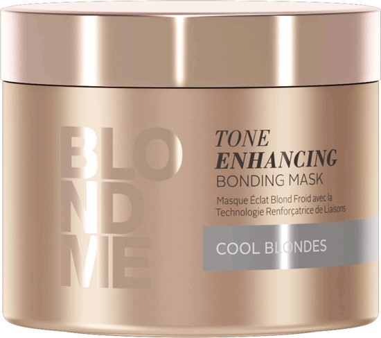 Schwarzkopf BLONDME Tone Enhancing Bonding Cool Blondes haarmasker Vrouwen 200 ml