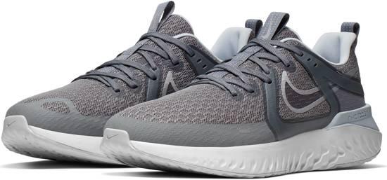 Nike Legend React 2 Heren Sportschoenen - Cool Grey/Mtlc Silver-Anthracite-White - Maat 47
