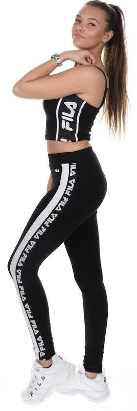 Fila Women Takoda Cropped Top Black MeN1wzQU