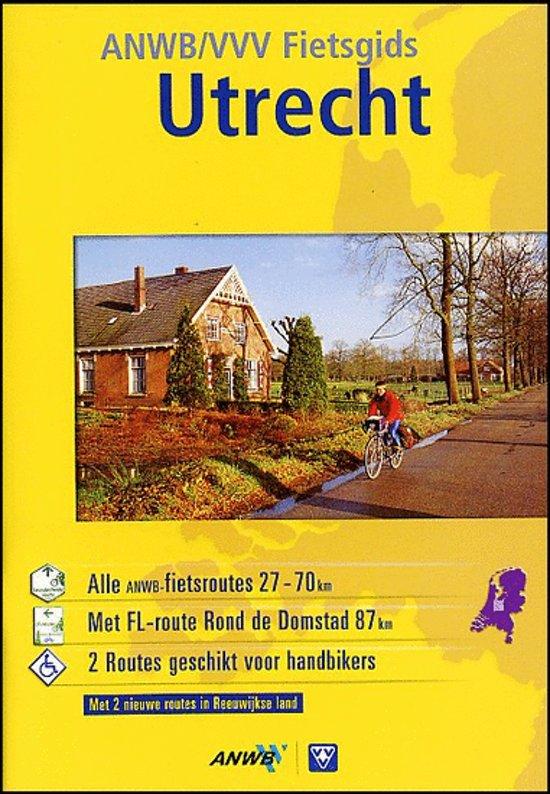Cover van het boek 'Anwb vvv fietsgids Utrecht'