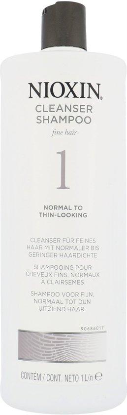 Nioxin Cleanser Shampoo System 1 1000ml
