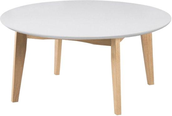 Bol.com fyn astrid salontafel rond wit eiken