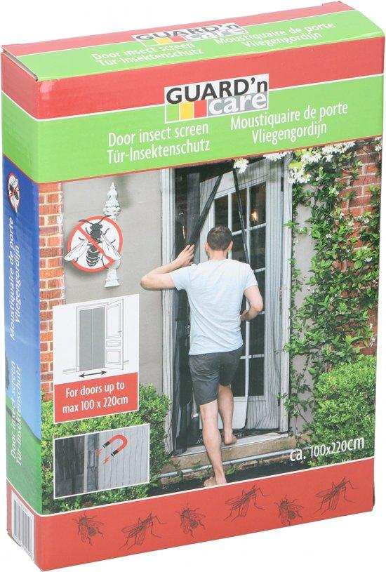 GUARD' n care  - Lamellenhor voor deuren (met magneet) - 105x215 cm - Basic