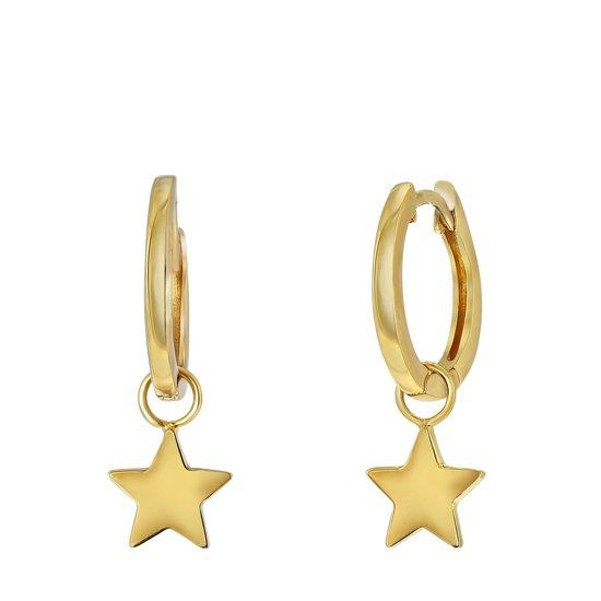 gouden ster oorbellen