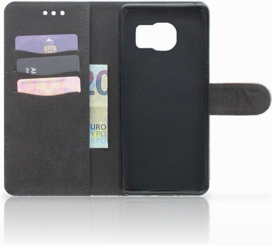 Samsung Galaxy S7 Edge Uniek Boekhoesje Schaap en Lammetje
