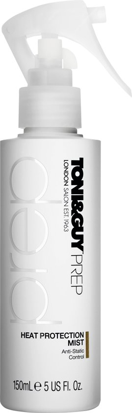 TONI&GUY Prep Heat Protection Mist - 150 ml - Haarlak