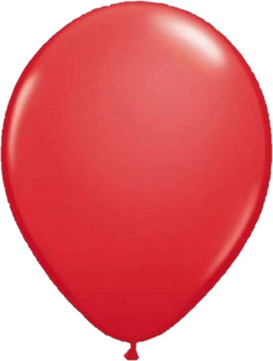 Belbal B105 - Ballonnen rood 40 cm (100 stuks) Valentinaa