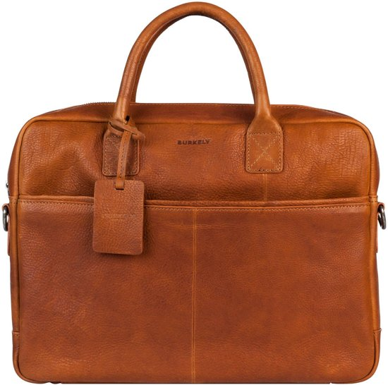 "BURKELY Antique Avery Laptopbag 15"" - Aktetas - Cognac"