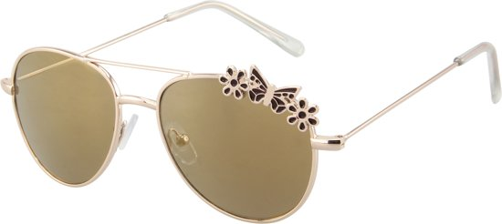 5f3494932eb740 Zonnebril Vlinder - Kinderen - Aviator   Pilotenbril - UV 400 bescherming  Cat. 3 -