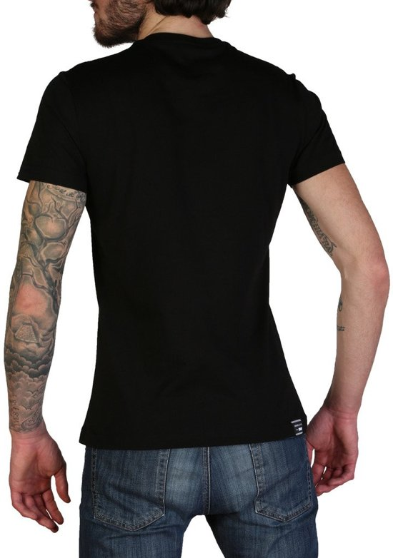 Versace Jeans - T-shirts Heren B3gtb76j_36610 Black Pink tx5EOrrz