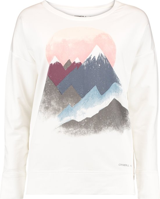 O'Neill Sporttrui Casual Mountain - Super White - Xl