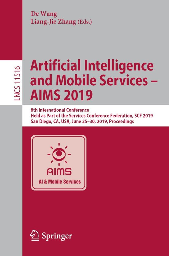 Artificial Intelligence and Mobile Services – AIMS 2019