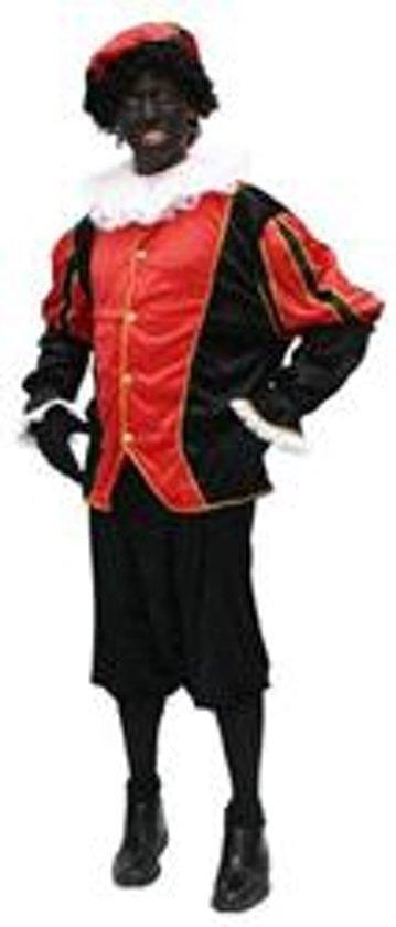 Kostuum Zwarte Piet Rood/Zwart