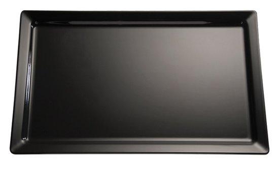 Melamine gn serveerplateau pure - 1/4gn - Zwart
