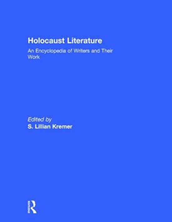 holocaust literature Among historical events of the 20th century, the holocaust is unrivaled as the subject of both scholarly and literary writing literary responses include not on.