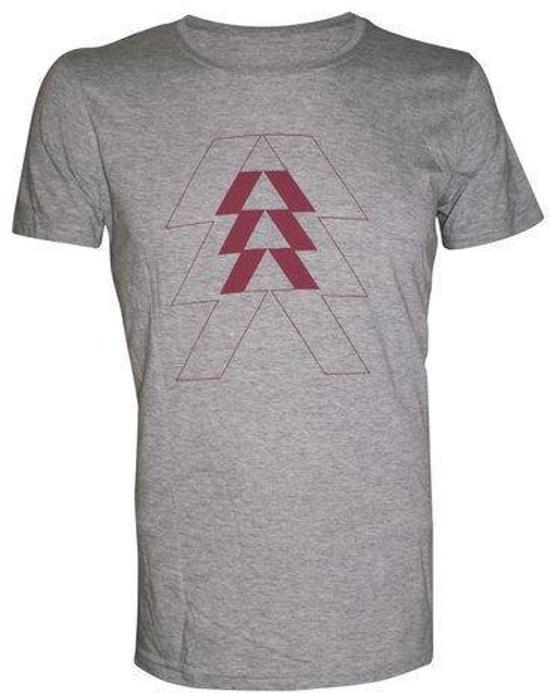 Destiny Grey Melange Vertical Triangle - L kopen