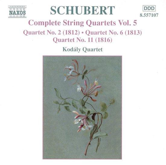 Schubert:String Quartets Vol.5