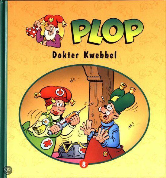 Boek cover Kabouter Plop deel 8 - Dokter Kwebbel van Hans Bourlon (Onbekend)