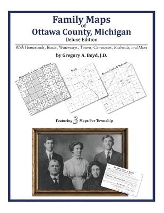 Family Maps of Ottawa County, Michigan