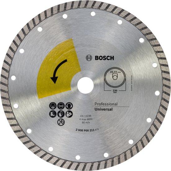 Bosch diamantschijf turbo top - 230 mm