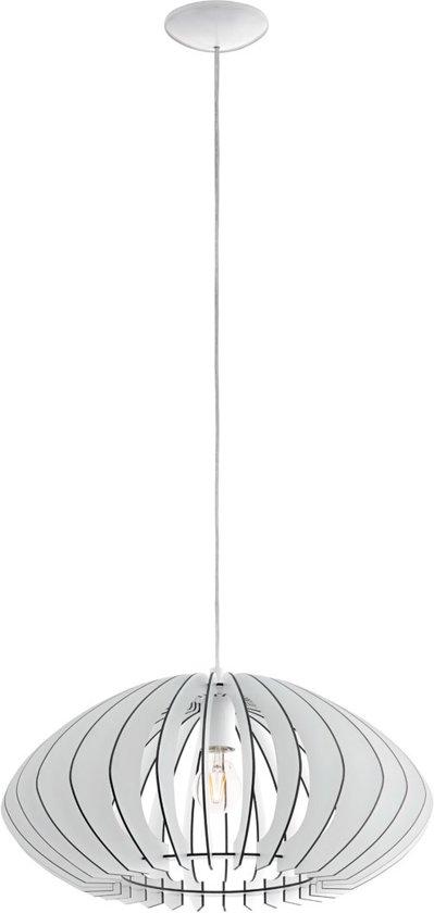 bol.com   EGLO Cossano 2 - Hanglamp - 1 Lichts - Ø500mm. - Wit