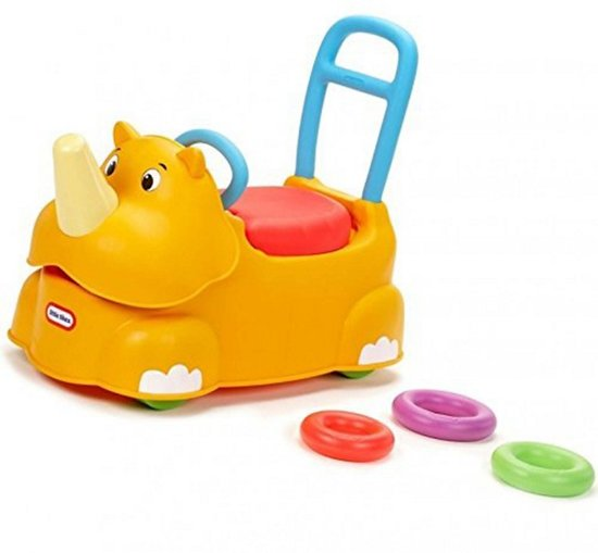 Little tikes scoot around animals rhino
