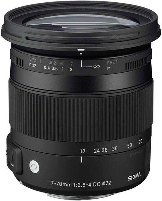 Sigma EF-S 17-70mm f/2.8-4 DC Macro OS HSM Canon