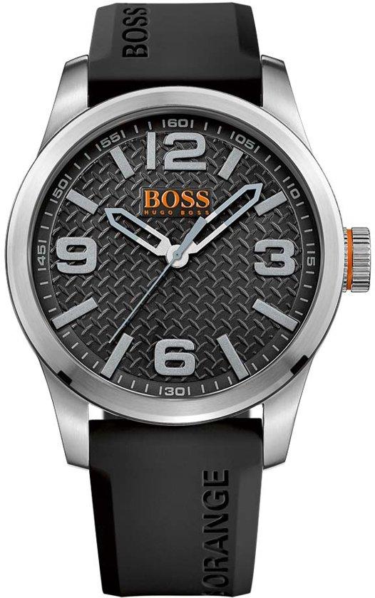 Hugo Boss Orange HO1513350 horloge heren - zwart - edelstaal