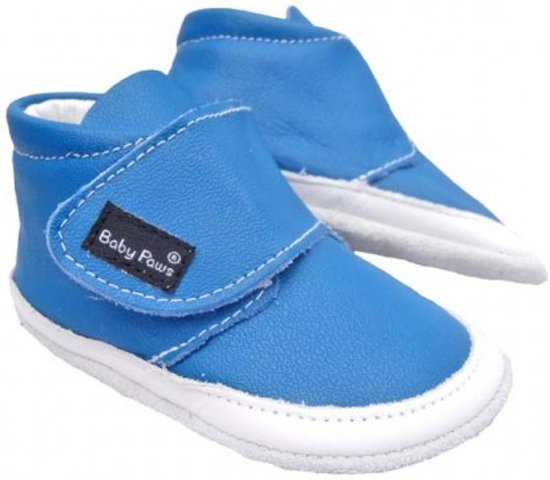 337390e3c78 bol.com   Baby Paws babyslofjes Jacky Kobalt Blauw maat 4 = ( 12,7 cm)
